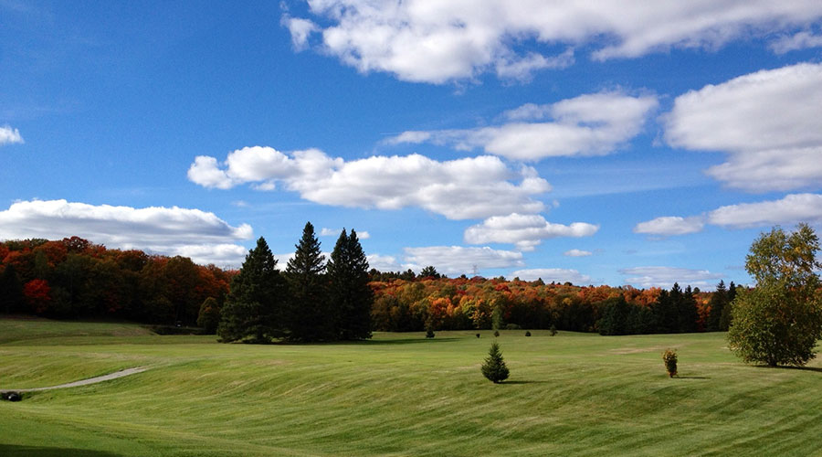 Bracebridge Golf Club Scenery is Beautiful